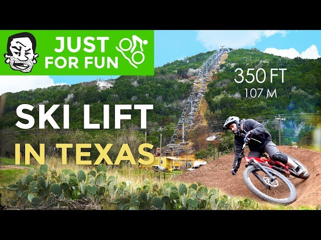 Texas' first ski lift is not such a stupid idea | Spider Mountain Bike Park