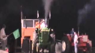 Tractor Pulling Farm Class 11,500 lb 12.5 MPH Complete Class, Missouri Farm Pullers Fulton Mo