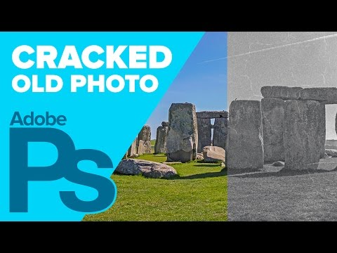 How To Create An Old Cracked Photo In Photoshop