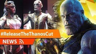 Avengers Infinity War Was Originally Thanos Film from Thanos POV