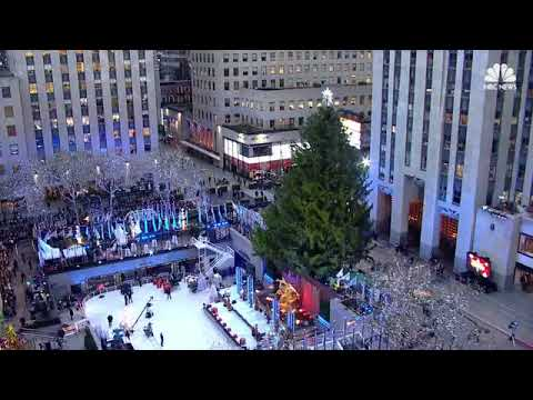 LIVE: Christmas Tree lighting At The Rockefeller Center at NBC