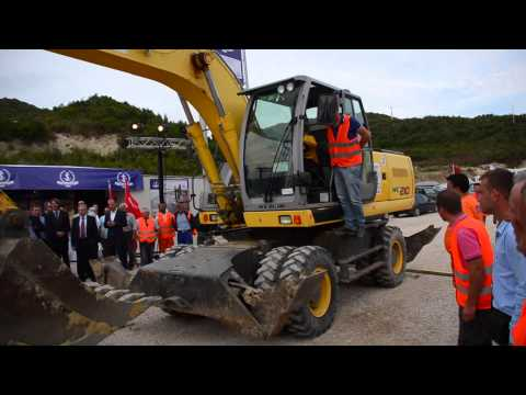 Porto Albania breaks ground at Kalaja e Turres