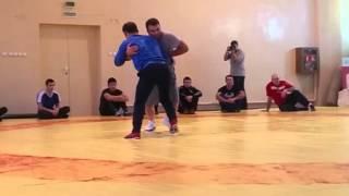 Мастер класс по вольной борьбе от Заура Батаева.