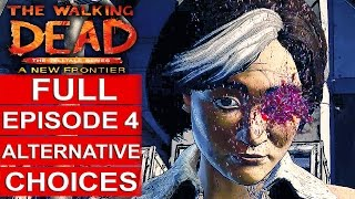 THE WALKING DEAD Season 3 EPISODE 4 Alternative Choices Gameplay Walkthrough Part 1 1080p HD