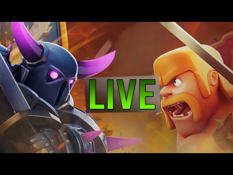 clash of clans live! :th7 pushing in Elite champs...&..megareal. accounts