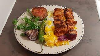 #turkishstylerecipe  Turkish Chicken Kabab Rice  Turkey Style Recipe  Urdu-Hindi Recipe