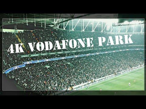 4K Vodafone Park Atmosferi   Beşiktaş 1-1 Monaco   4K Görüntü Kalitesinde Beşiktaş Tribünleri