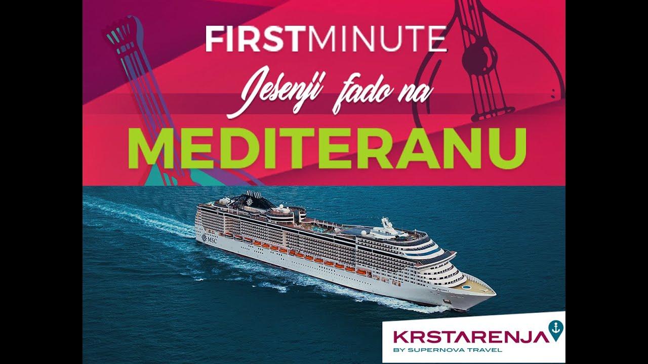 MSC Splendida krstarenje - Jesenji Fado na Mediteranu