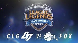 Video CLG vs. FOX - Week 3 Day 1 | NA LCS Spring Split | Counter Logic Gaming vs. Echo Fox (2018) download MP3, 3GP, MP4, WEBM, AVI, FLV Juni 2018