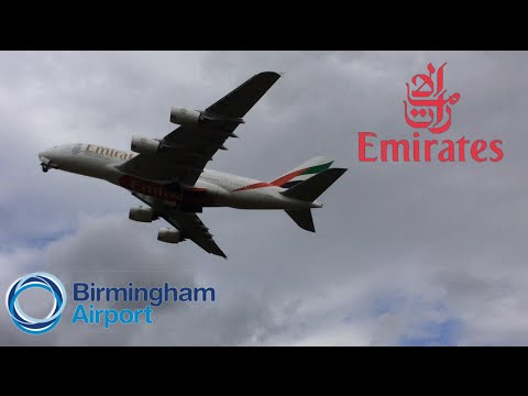 Emirates A380-800 *HEAVY LATE!* DEPARTURE AT BIRMINGHAM AIRPORT (BHX) | A6-EOQ