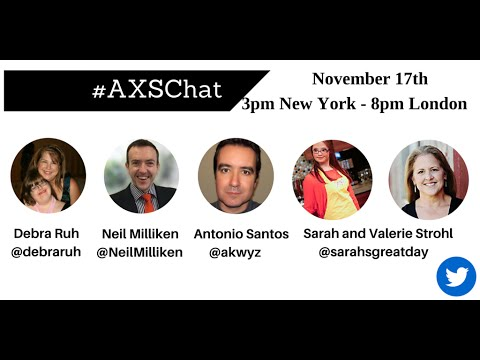 AXSchat with Sarah & Valerie Strohl from the YouTube Channel Sarah's Great Day