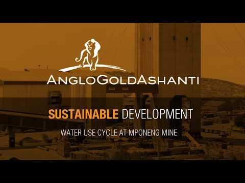 AngloGold Ashanti Mponeng Water Use Cycle