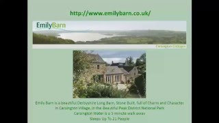Holiday Cottage Carsington Water: Emily Barn, Carsington, Peak District Review