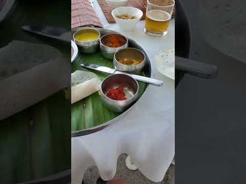 Hotel Boatyard Patio Lunch Kochi Kerala India January 2020 4