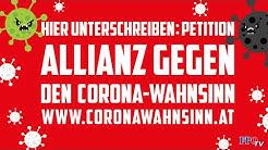 """Neue FPÖ-Petition: """"Jetzt reicht's: Allianz gegen den Corona-Wahnsinn!"""""""