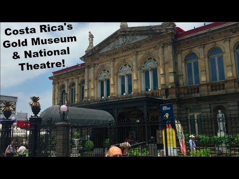 Day Trip to the Gold Museum & National Theatre