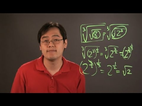 What Is the Third Root of the Square Root...