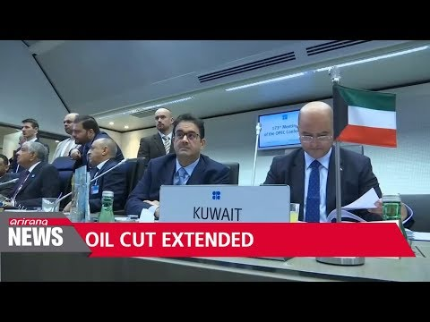 OPEC decides to maintain current slow output until 2018