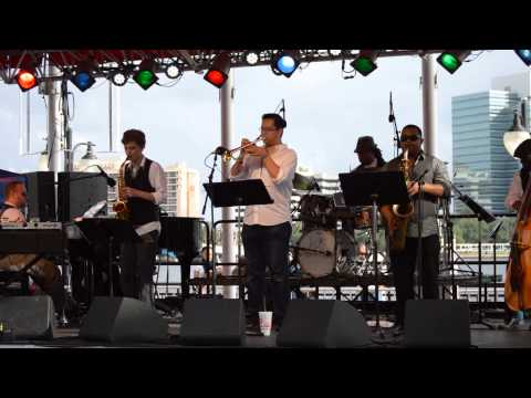 Larry Wilson and Truth Serum Snippet @ Jacksonville Jazz Festival 2015