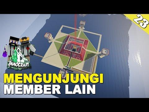 IMMOCRAFT #23 - 4 IRON FARM SELESAI - Minecraft Survival Indonesia