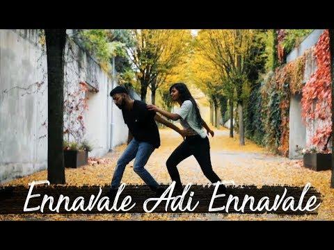 Usha Jey x Jahee Mani Choreography | Ennavale Adi Ennavale - AR Rahman