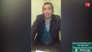 """""""Cəlilabad əsl Kolumbiyadır, polisdə adamı döyüb, şərləyirlər, anarxiya baş alıb gedir"""" - şikayətçi"""