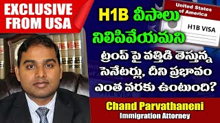 US senators urge Trump to suspend H1B visas andamp; OPT program | H1B Latest News | H1B Visa New Rules