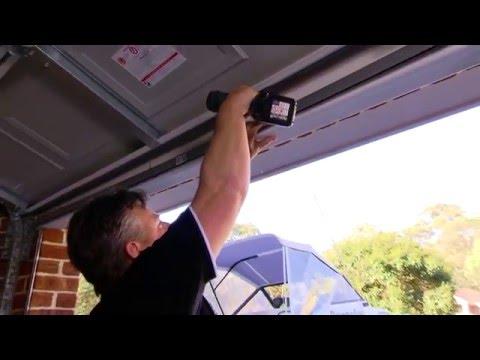 Sectional garage door top seal  YouTube