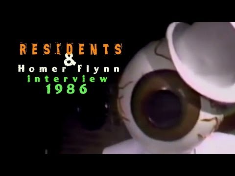 The Residents & Homer Flynn Interview 1986