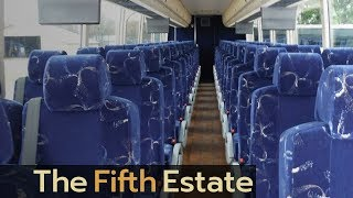 Seatbelt report on coach buses hidden by Canadian government - The Fifth Estate