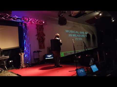 FGF Chris- Tom Sawyer (Rush) Karaoke at HMAC (Harrisburg Music and Arts Center) 3/20/17