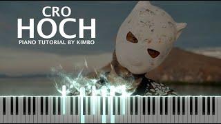 Cro - Hoch (Piano Tutorial + Noten)