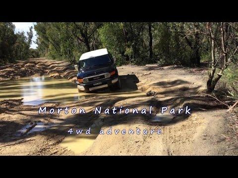 Morton National Park - Monkey Gum Trail - Muddy Road