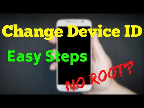 How To Change Device ID With Root | Android ID Change Without Root