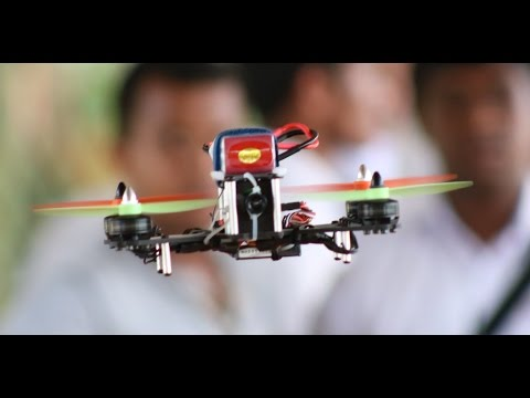 FPV Racing Quadcopter Crash in Sri Lanka