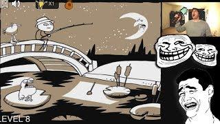 TROLL Y PALA DE DIAMANTE!!! Troll Face Escape 3 - [LuzuGames]