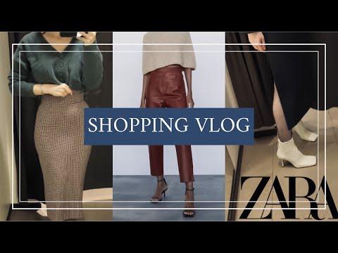 ШОППИНГ ОБЗОР Zara ☘︎ | тренды/мои фавориты || аксессуары/пальто/юбки ||