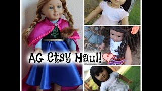 American Girl Doll Etsy Haul