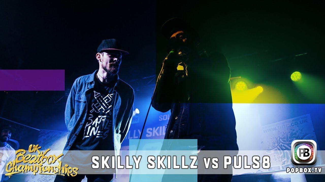 Skilly Skillz vs Puls8   Solo Top 16   2017 UK Beatbox Championships