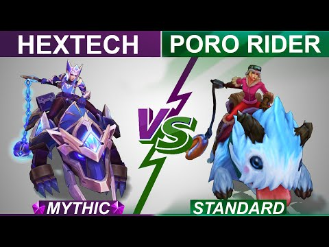 Hextech Sejuani vs Poro Rider Sejuani Full Skin Comparison | Which One is Better? League of Legends