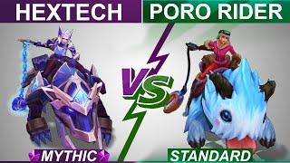 Hextech Sejuani vs Poro Rider Sejuani Full Skin Comparison   Which One is Better? League of Legends