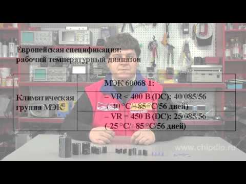 How to Read Specifications. Operating Temperature Range