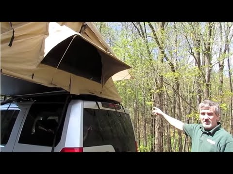 Atlantic British Presents Install ARB Simpson III Rooftop Tent (ARB3201) on LR3 & Atlantic British Presents: Install ARB Simpson III Rooftop Tent ...