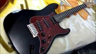 Guitarra Giannini GGX-1S Sonic X (G-100)Upgrade Customização e Regulagens