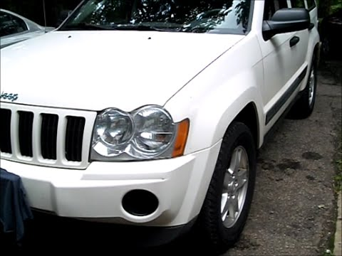 Jeep Grand Cherokee `05 w 3.7l starter replace - YouTube