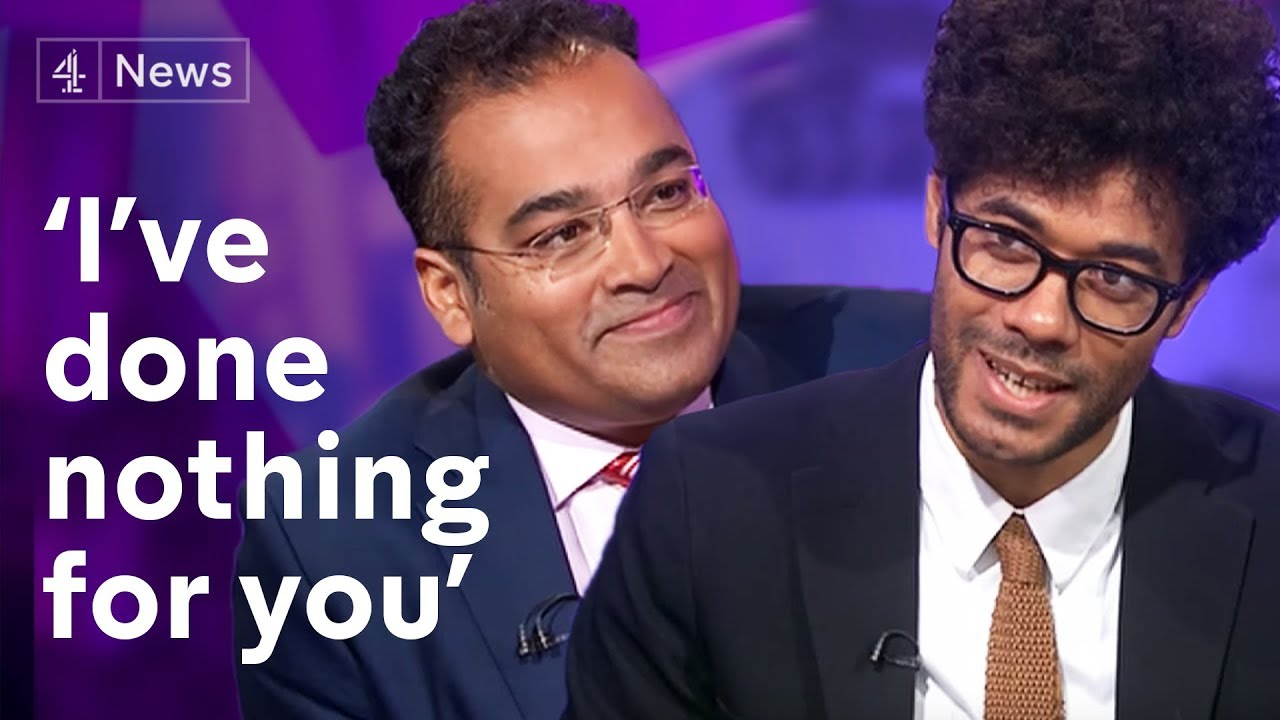 Who S Interviewing Who Richard Ayoade Speaks To Krishnan Guru Murthy Youtube