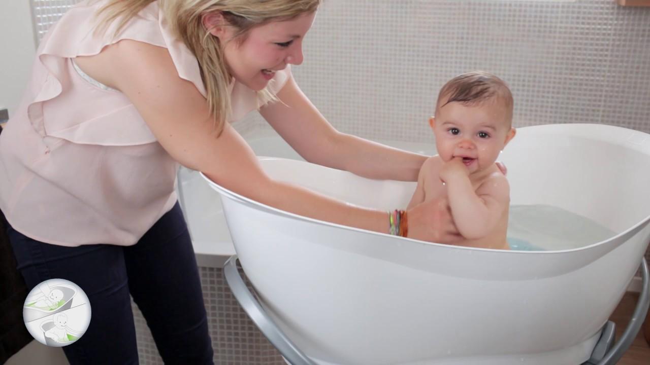 Pied De Baignoire Bébé Et Tube De Vidange Pour Aquanest De Babymoov