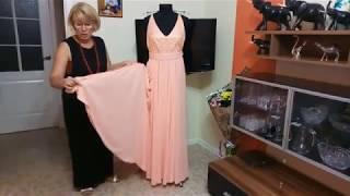 Шьем платье для подружки невесты. Обзор