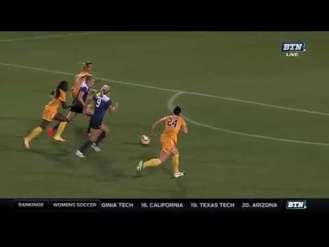Laura Freigang Scores a Goal! vs. West Virginia