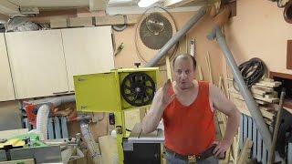 Ремонт вузла натягнення стрічкової пили пили/Repair saw tensioning assembly